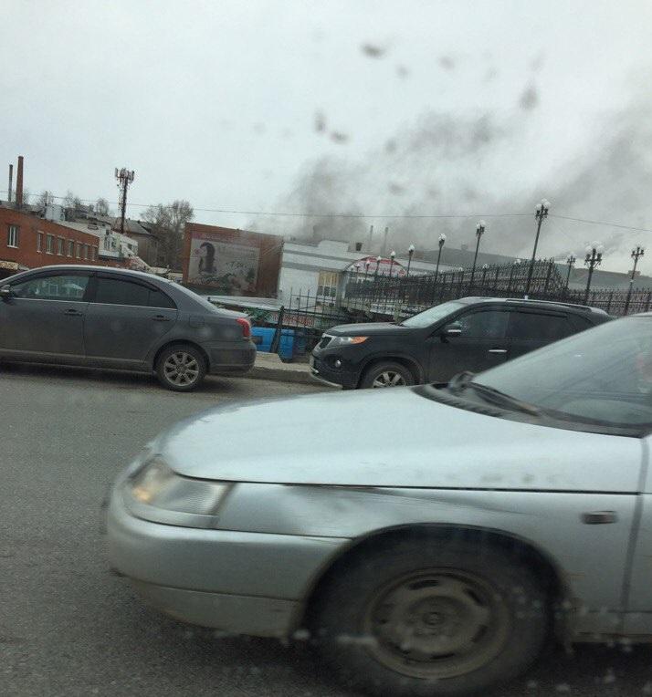 МЧС: Очаг возгорания нарынке вЧебоксарах найден в здешней кухне