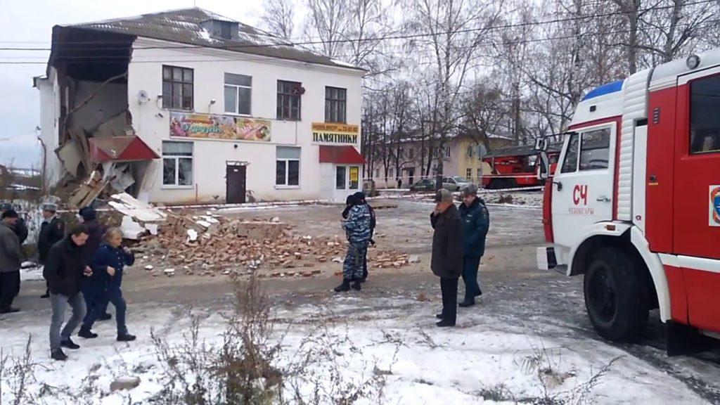 Следователи назвали причину обрушения здания вЧебоксарах