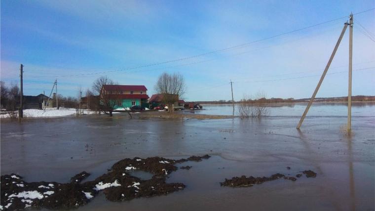 Паводок в Чувашии