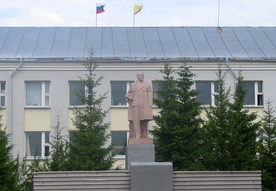 Ленин в Вурнарах