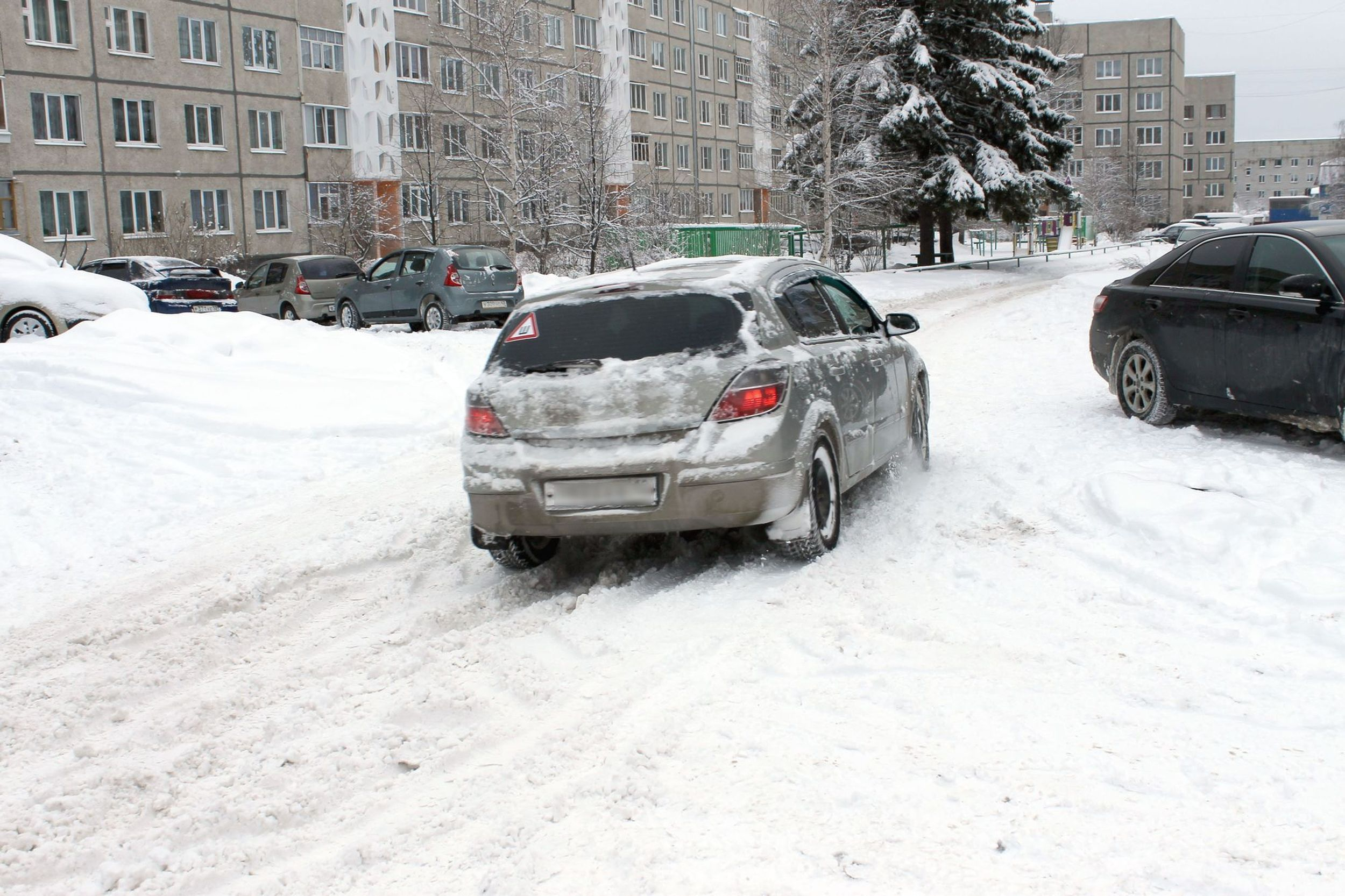 Снег в Чувашии